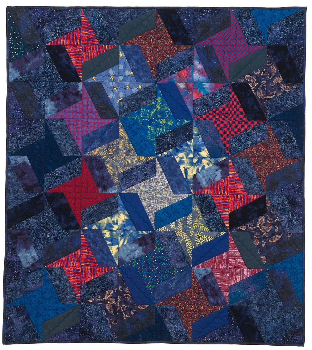 "Starry Night, 47"" wide x 52.5"" high, 2002"