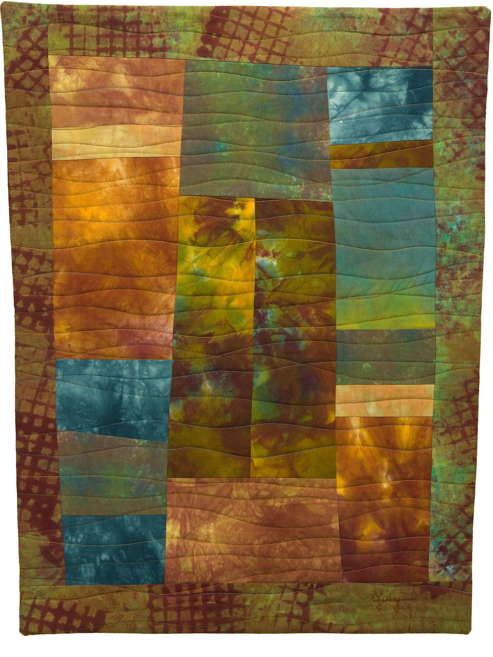 "Dusk in the Fall, 20.5"" wide x 26.5"" high, 2007"