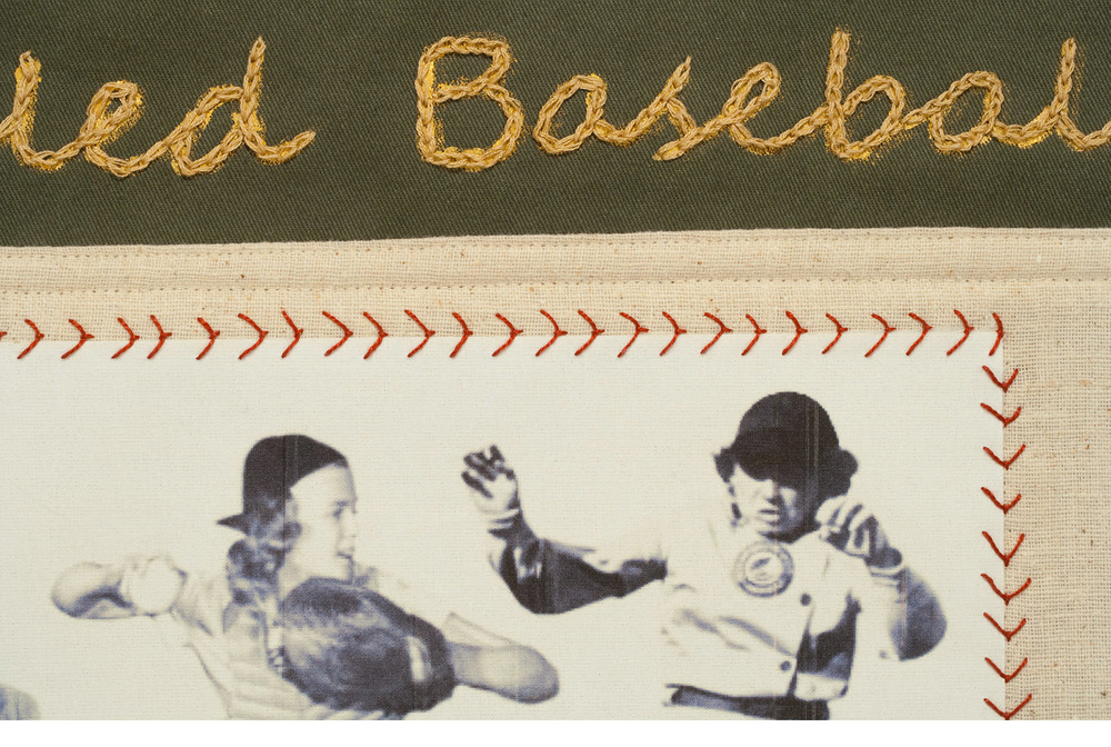 When Women Ruled Baseball, detail