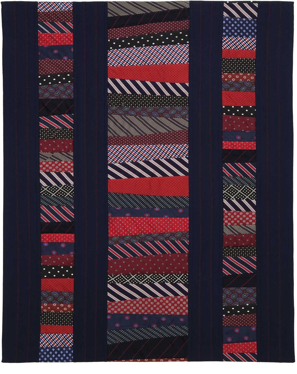 "Ties that Bind, 35"" wide x 43.5"" high, 2011"