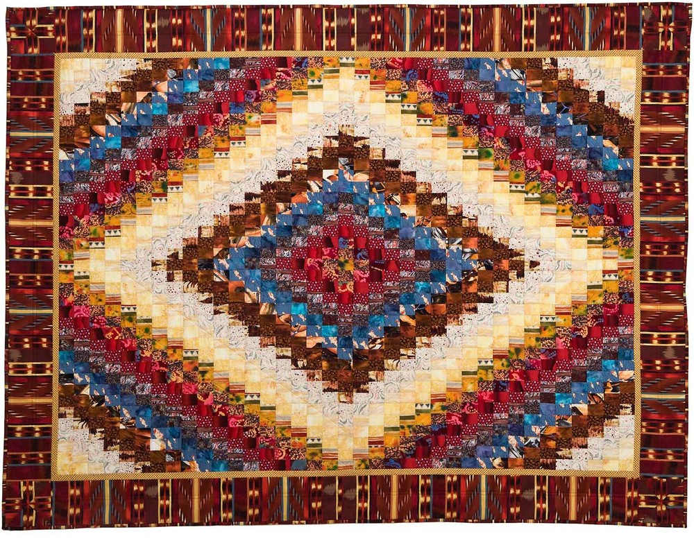 "Southwestern Trip, 76"" wide x 57"" high, 1998"