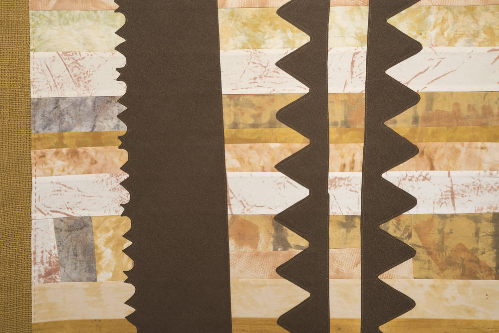 Burlap and Blades #1, detail