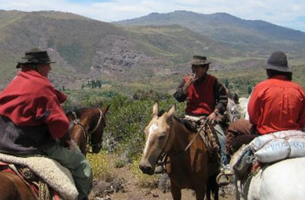 Diving into the gaucho way The gaucho of old may be part myth, but our gauchos are real. Guests of the estancia are more than welcome to experience the gaucho way at the level they are comfortable. They can tend to their own horse before and after trips, or work alongside the gauchos, joining in any horse or cattle activities going on at the ranch. True representatives of the gaucho spirit, the gauchos at Estancia Ranquilco are skilled horsemen and cattle handlers. Even the most experienced guests often learn something new from spending time with them. Our gauchos are friendly and generous men who are passionate about their way of life. They welcome those who want to experience some of the beauty and adventure they know every day during life on the estancia. It's one of many reasons to include a stay at the estancia as one of your holiday trips to South America.