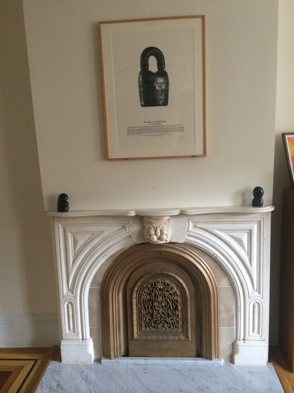 Beautiful mantle…. and I had two to work with.