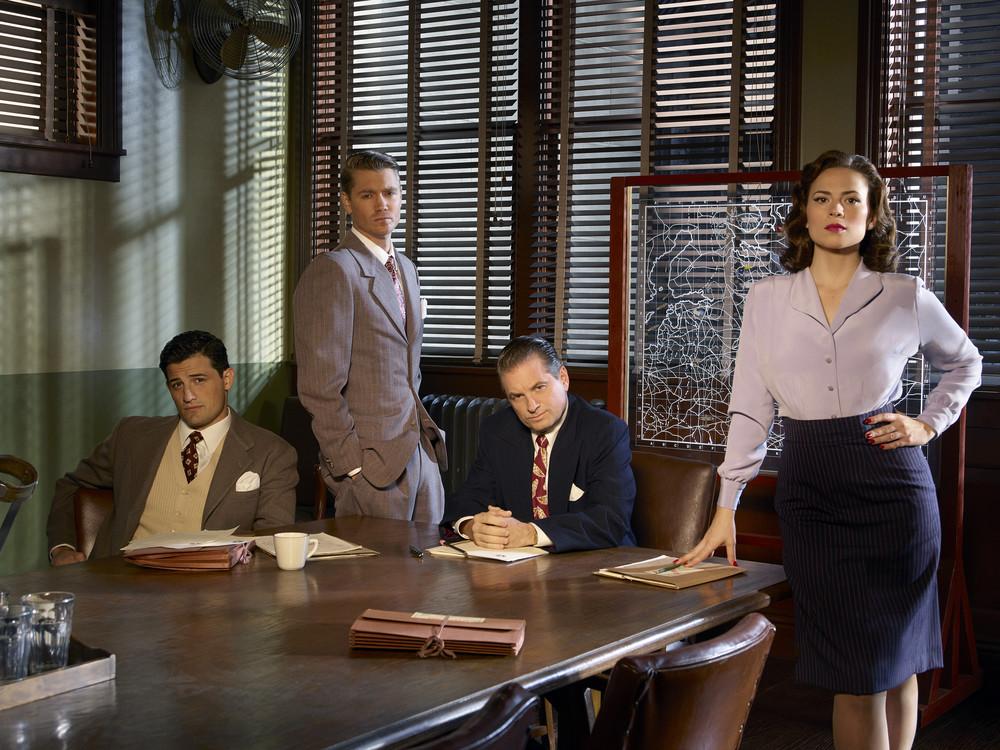 Yay, feminism! Still, #DiversifyAgentCarter ( Agent Carter , ABC)