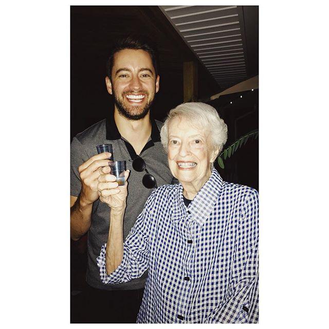 31 is... doing fireball shots with your 88 year old Grandma. #favoritehuman #birthdayweekend