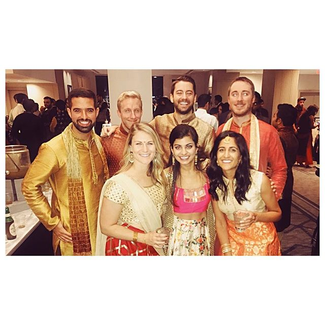 Such a fun time celebrating Nyra and Krishna last night! Congratulations on your wedding, and thanks for inviting us to [most of] our first ever Indian wedding celebration! Risha, I am still so impressed by your dances, you were amazing!  #indianwedding #sangeet #philadelphia #love #allthedancing #allthemusic #allthefood #allthedrinks #evenmoredancing #andwestillgotcheesesteaksbeforebed
