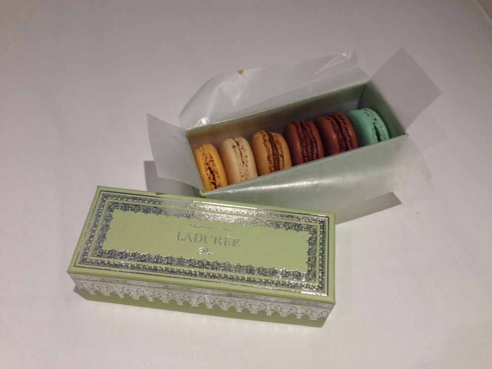 Our favorite macarons from the iconic French patisserie,  Laduree .
