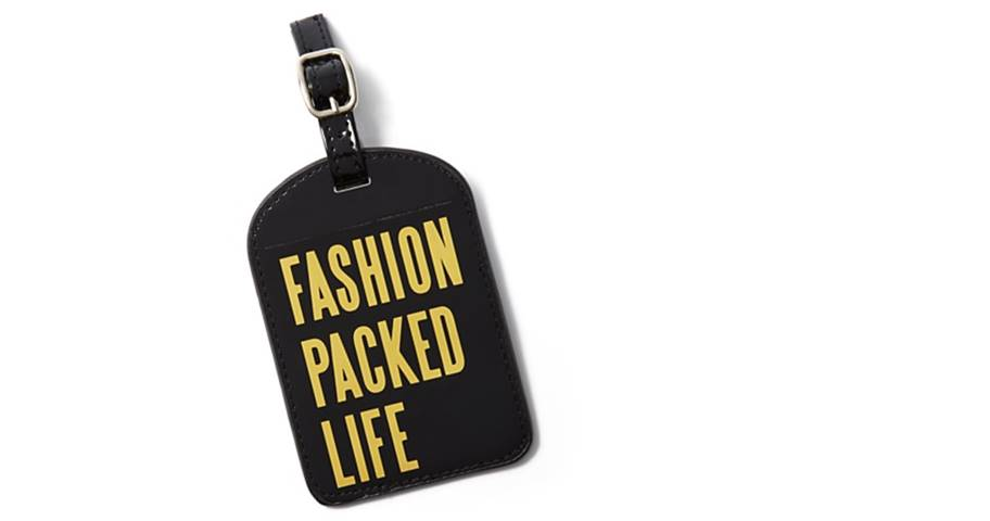 A stand-out luggage tag.