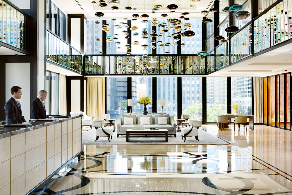 "Chicago's  The Langham  was just named  TripAdvisor's  #1 U.S. hotel, and the   New York Times   calls it an ""elegant, tasteful stay."" Source:  International Housewares Association"