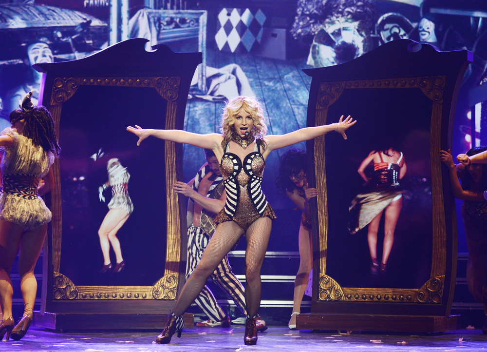 I mean, who doesn't love Britney? I'm dying to see her show while she's still in Vegas. Source:  Caesars Blog