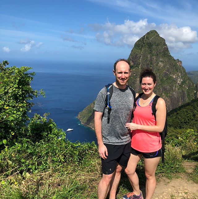 Another full day, starting with an easy hike to see the Pitons, then a boat ride to Marigot Bay and snorkeling at Anse Chastenet, topped off with a sunset swim and cocktails by the beach. 🏝☀️🚤🍹