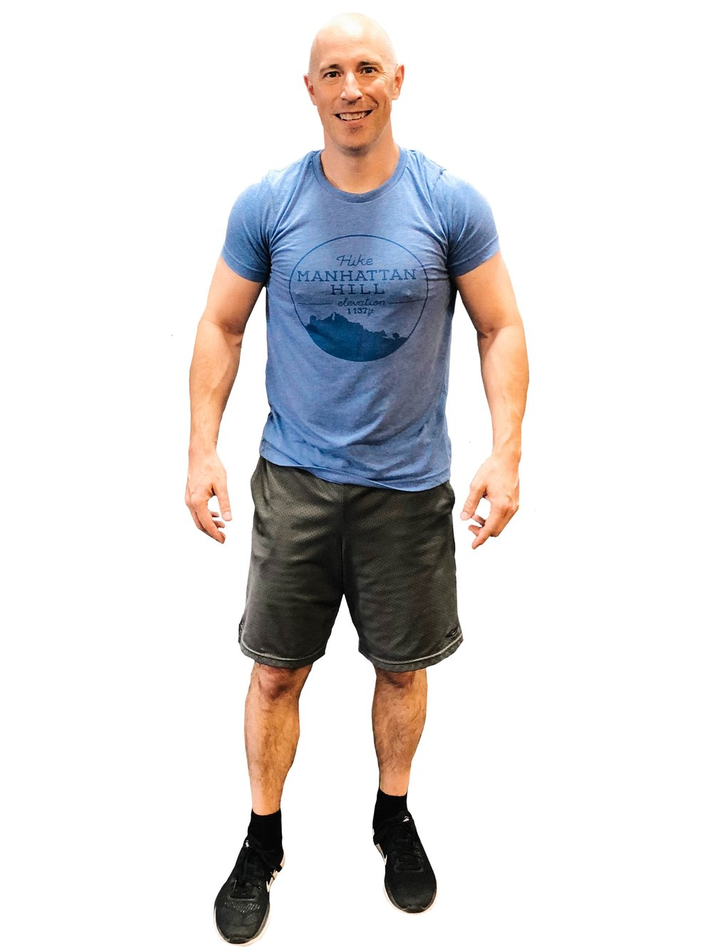 This is me, looking all SWOLE.  (I'M WORKING ON IT.) #VAUGHNSWOLLER