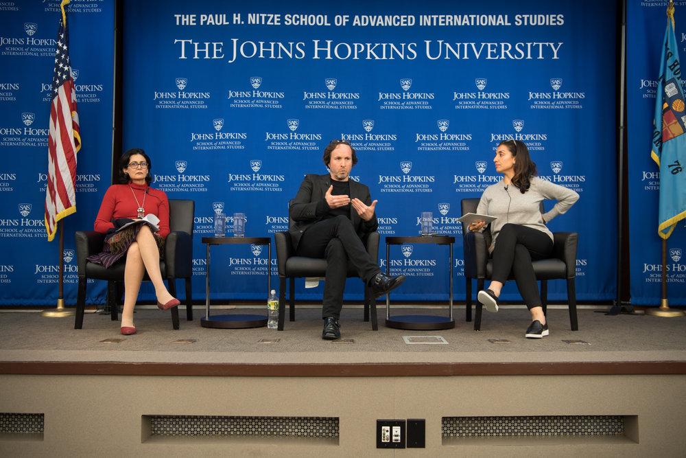 After the presentation, Delano was joined for a panel discussion by Professor Tanvi Nagpal, moderated by FPI Fellow Shamila Chaudhary