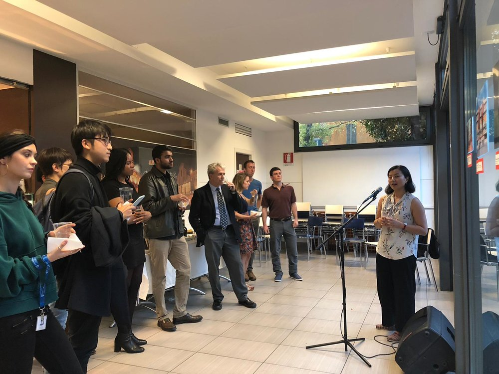 Launching the 2018-19 issue of  SAIS Perspectives  on the Bologna campus