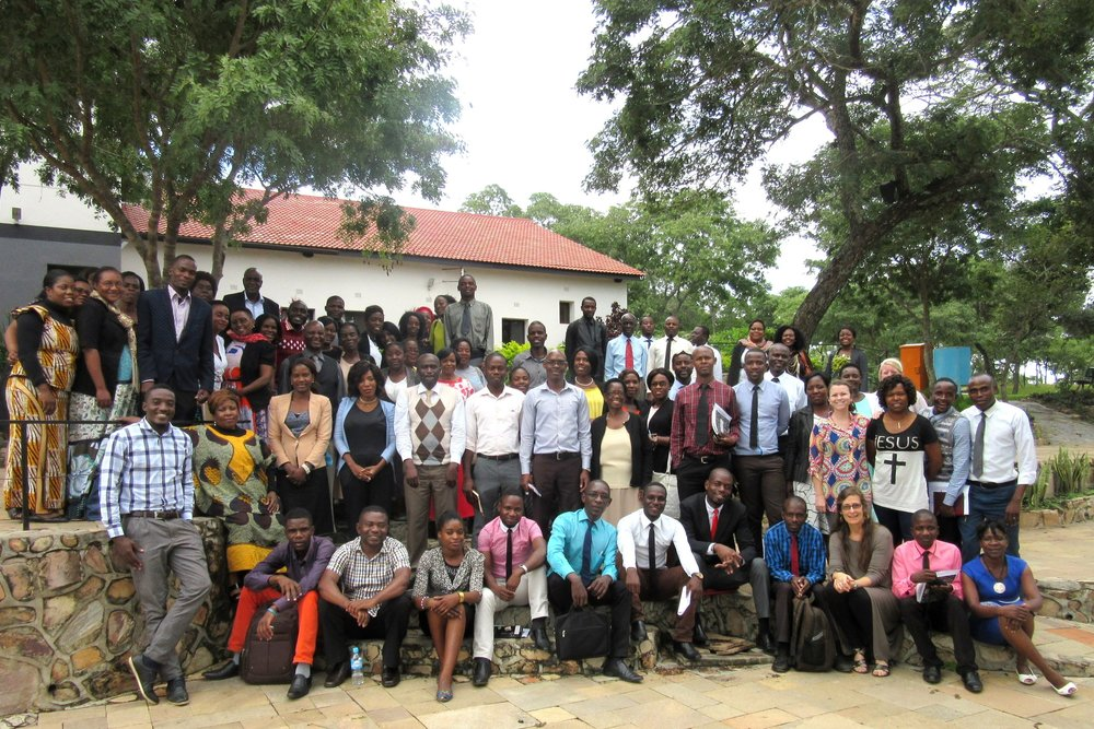Zambian teachers trained, 2017