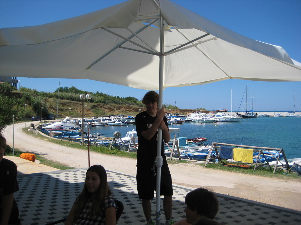 Philip in Croatia, 2011