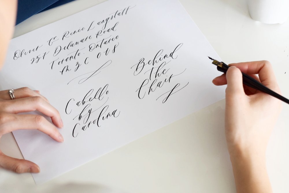 Behind the Chair with Paula Lee Calligraphy