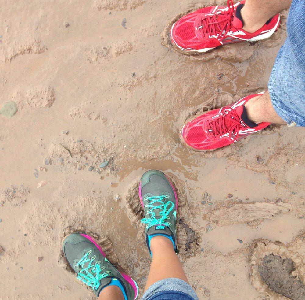 Just leaving our footprints on the ocean floor ;)