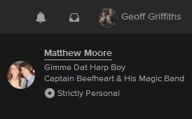 You are just one click away from spiralling right into Matthew's Spotify splendour