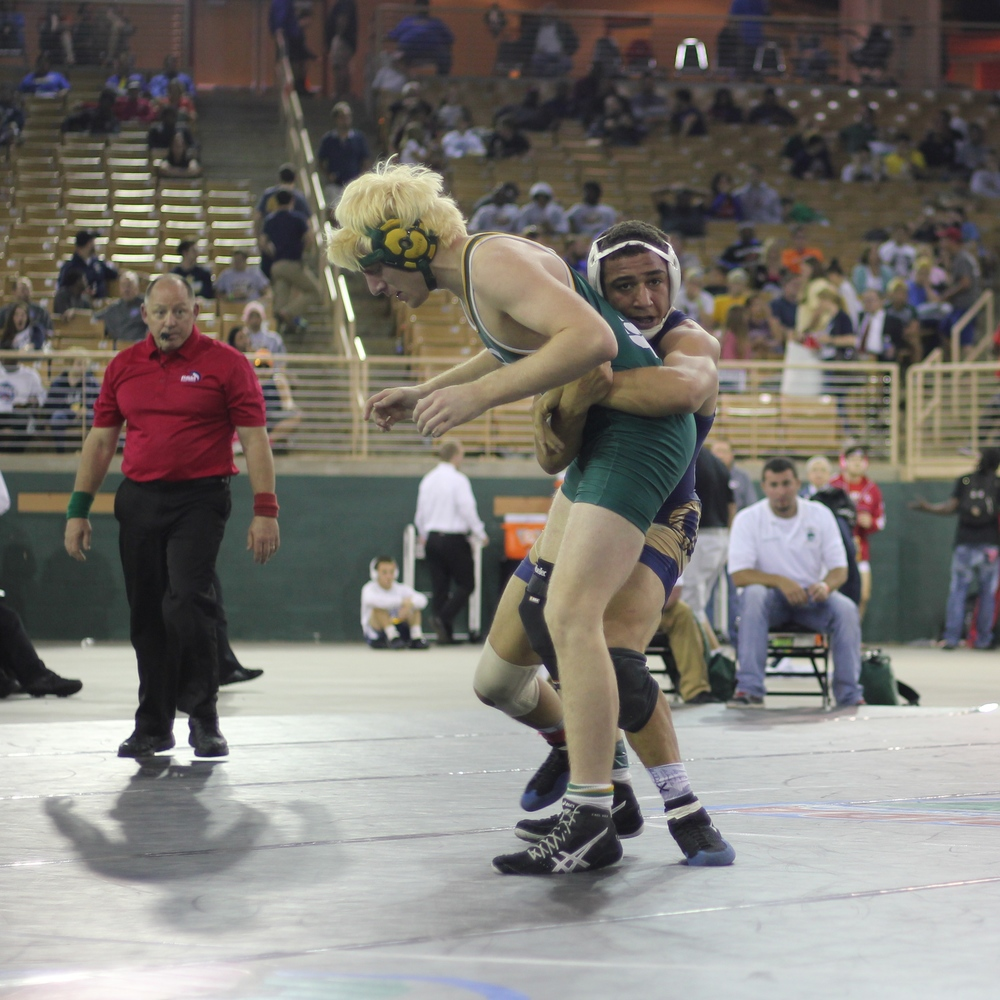 McGee beat Key 15-7 to win the 2015 1A 170 lb. title