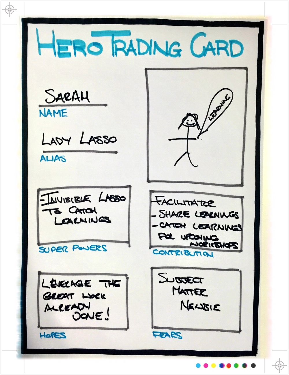 Hero Trading Card Sarah