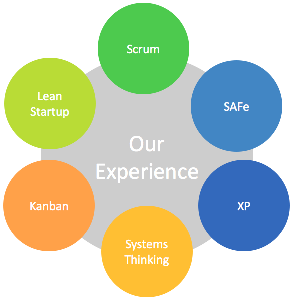 Pragmateam - Our Experence Systems Thinking, Lean, Kanban, Scrum, SAFe, XP