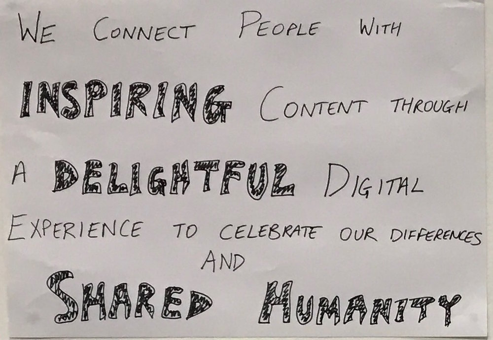 SBS On Demand's Vision:  We connect people with inspiring content through a delightful digital experience to celebrate our difference and shared humanity.