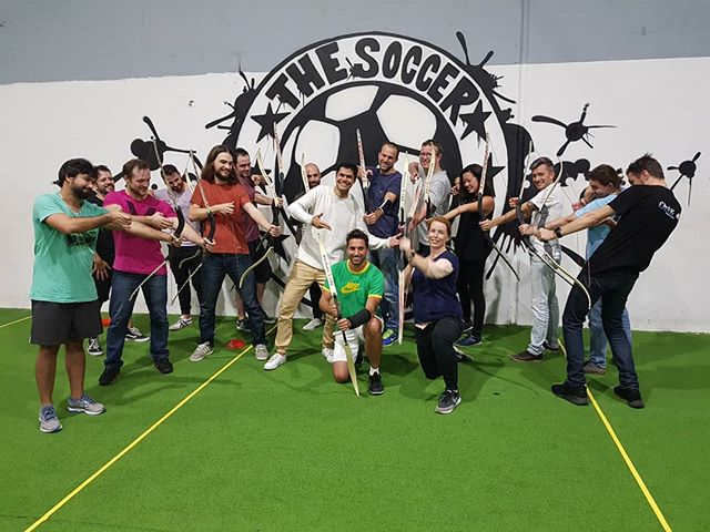 Pragma offsite at @the.soccer.club 🎯