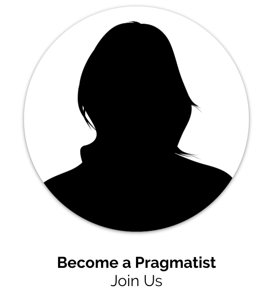 Become a<br />Pragmatist<br />Join Us
