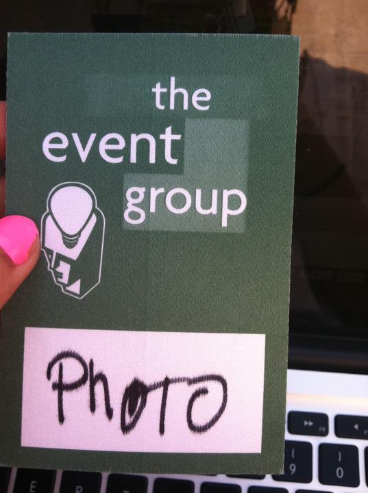 I Got a Photo Pass!