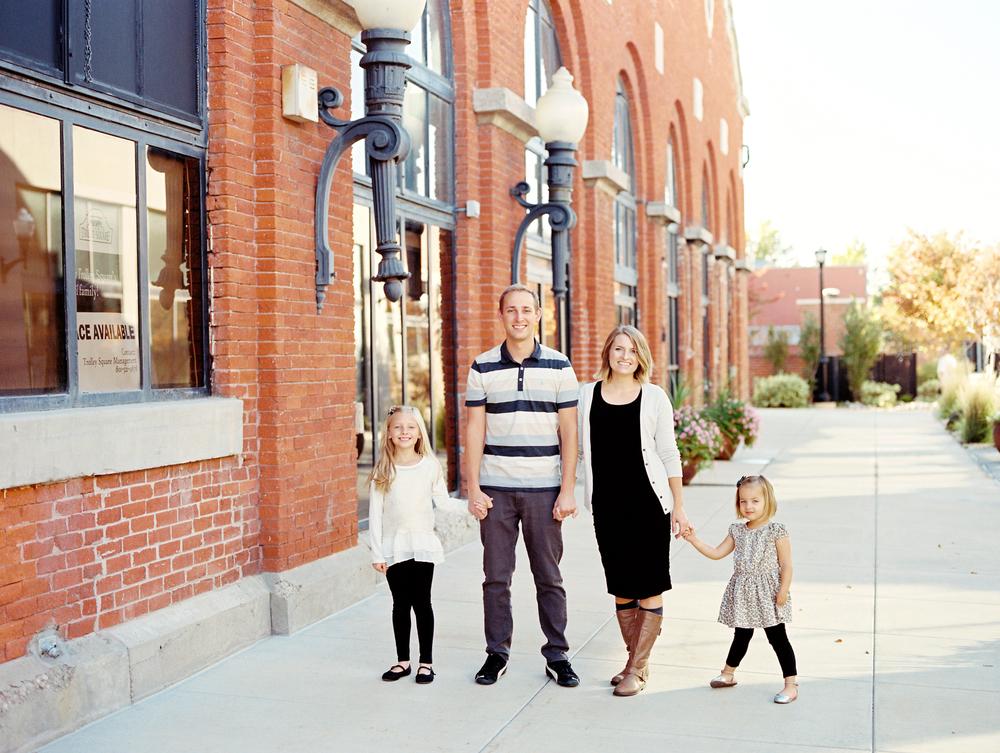 Utah family film portraits