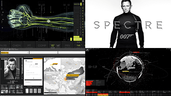 SPECTRE - 007 UI by Rushes