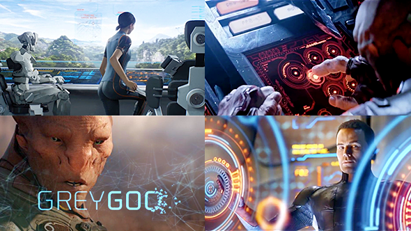 Grey Goo - Sci-Fi interfaces
