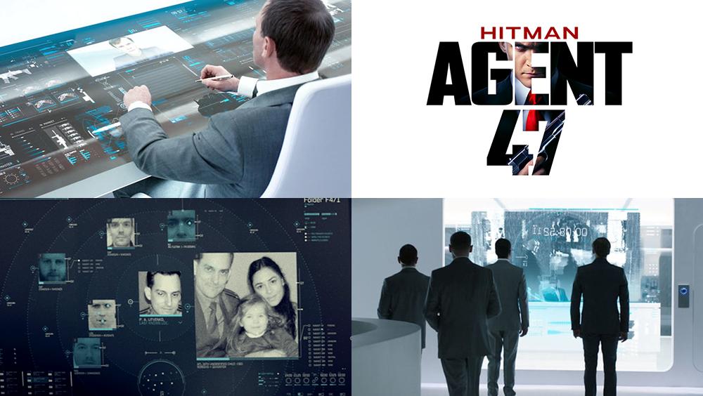 Hitman Agent 47 Ui By Territory Studio Huds Guis