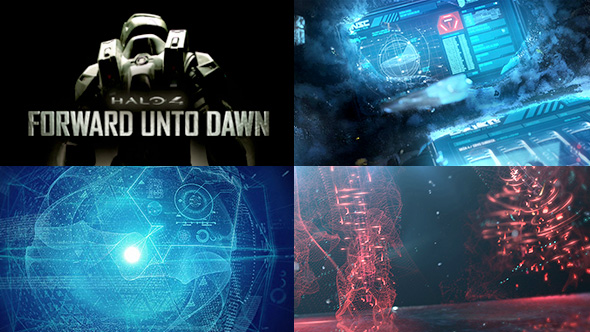 Halo 4 Forward Unto Dawn Opener Data Spheres And Holograms