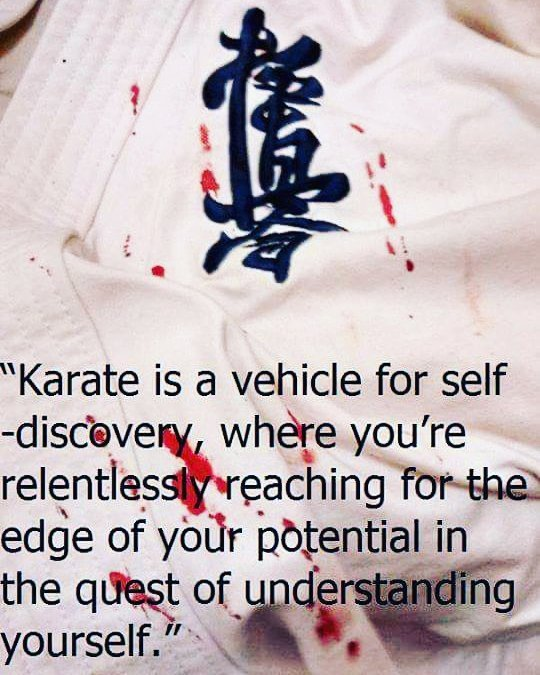 Osu !  #iko #kyokushin #karate #fighting #persistence #patience #sydneykarate