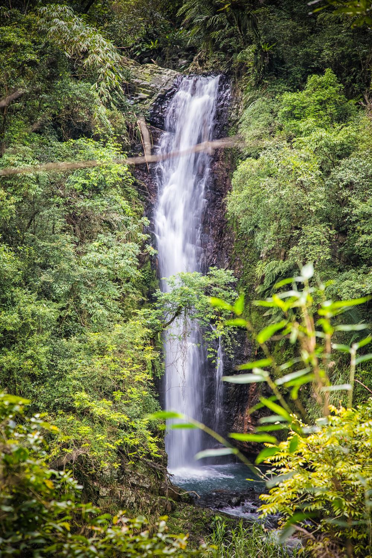 Wusha Creek Waterfall