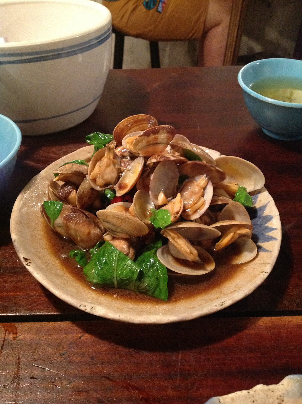 Stir Fried Clams (炒蛤仔)