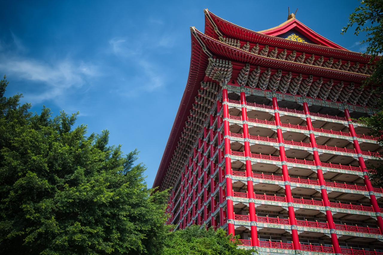 RGB Colour Balance at the Grand hotel. (圓山大飯店/三原色光模式)