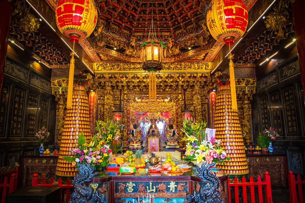 Shrine room on the third floor