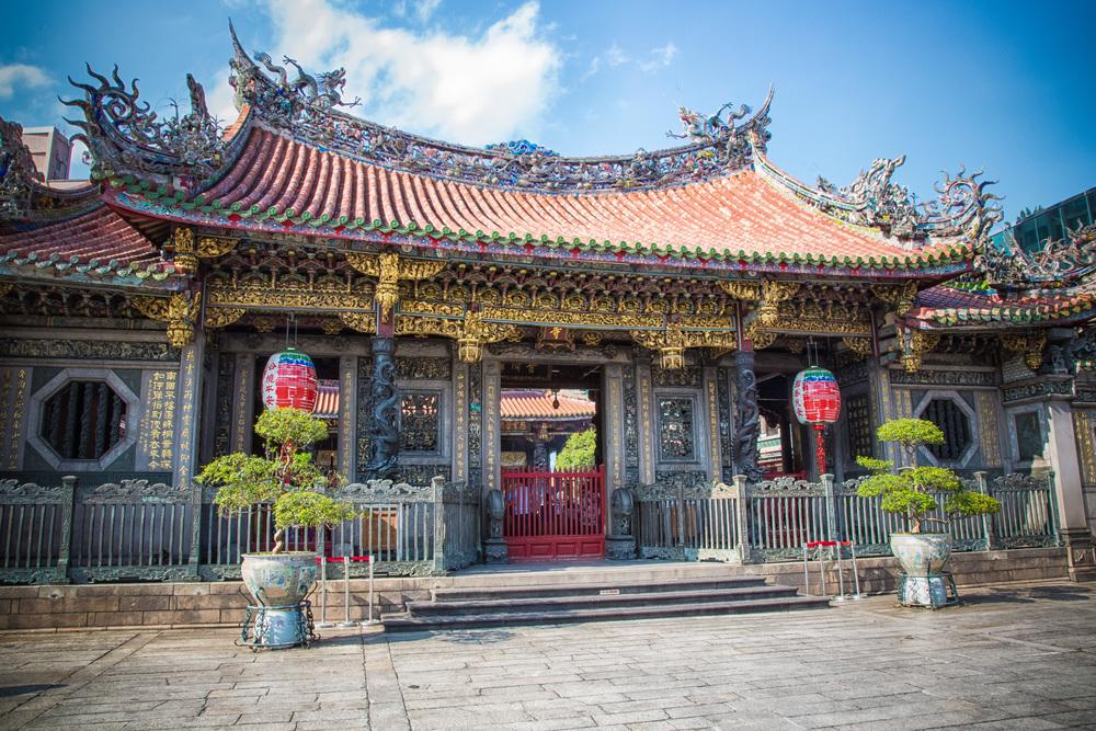 Main facade of the temple