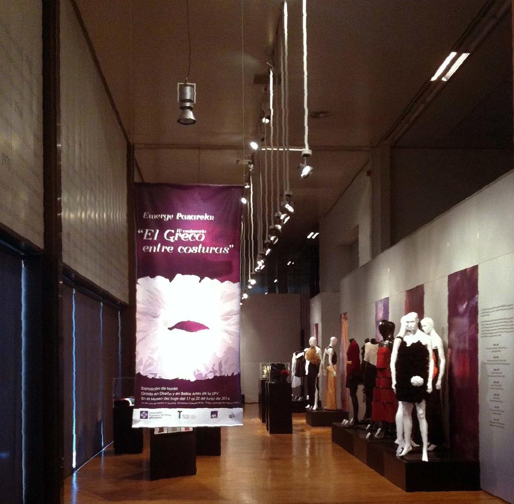 """Diseño y Montaje de Exposición: """"El Greco entre costuras"""""""