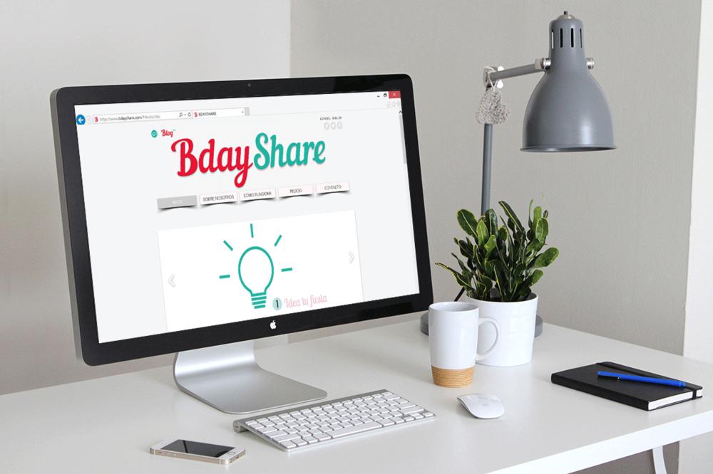 BdayShare: Rediseño Imagen Corporativa