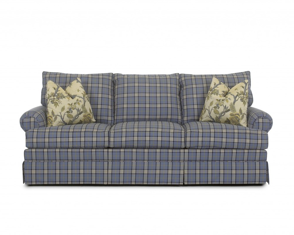 The Richmond Sofa with T-bar seat cushion