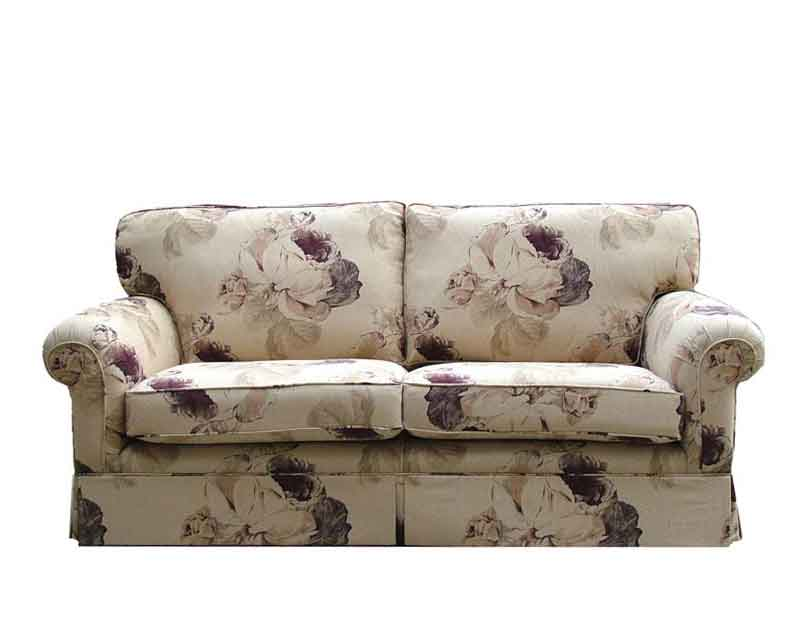 The Nicole Sofa with skirts