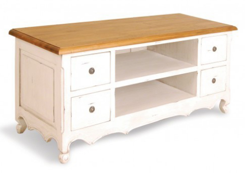PP005/B                 Provence 4 drawer TV Unit