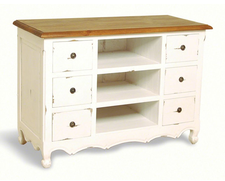 PP004/B               Provence 6 drawer TV Unit