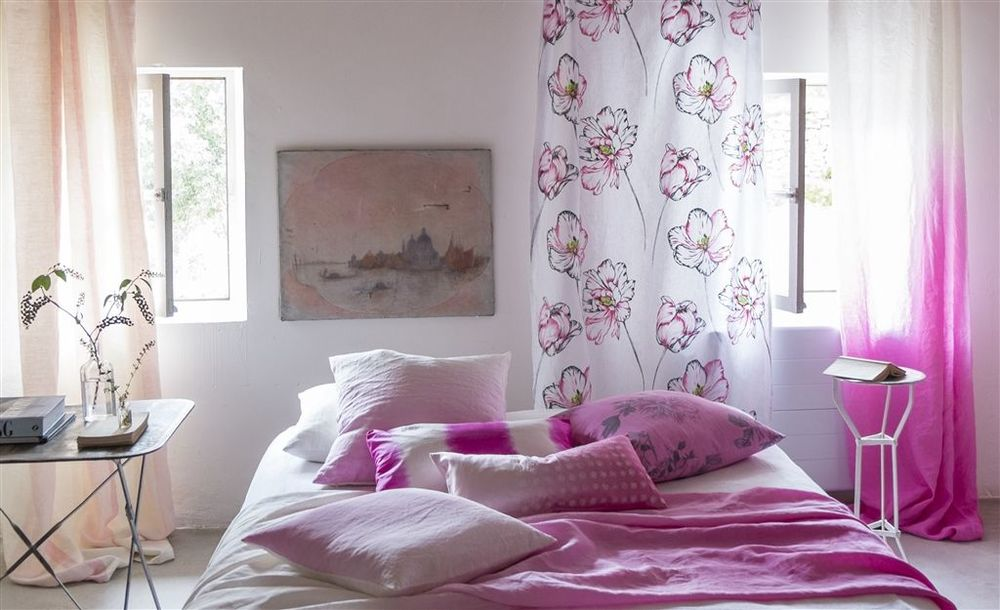 Designers Guild -Saraille beautiful designs with the luxurious handle of linen