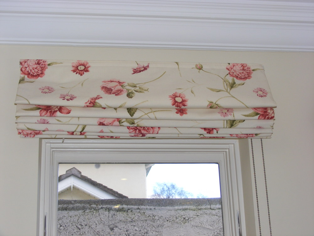 Roman Blind without pelmet